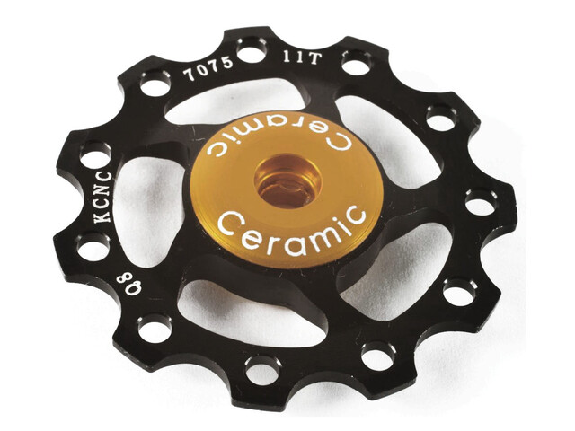 KCNC Jockey Wheel 11 Zähne Ceramic Bearing schwarz